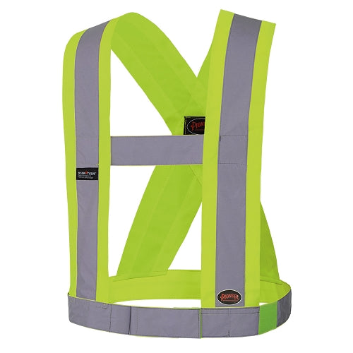 "PIONEER HI-VIZ CSA 4"" Wide Adjustable Safety Sash"