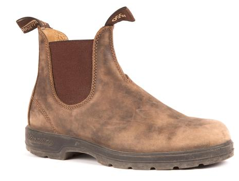 Blundstone 585 - Leather Lined Rustic Brown