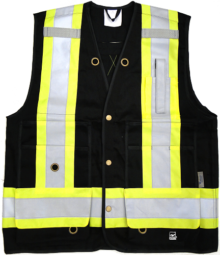 VIKING 6165BK Open Road Surveyor Vest