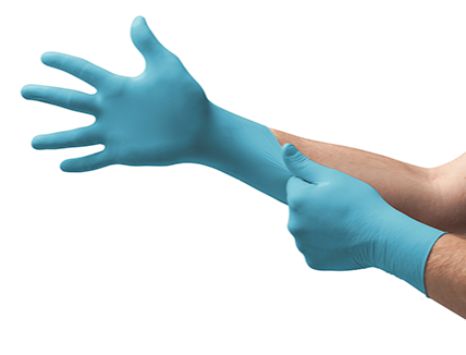 ANSELL TNT Blue Nitrile Diposable Gloves