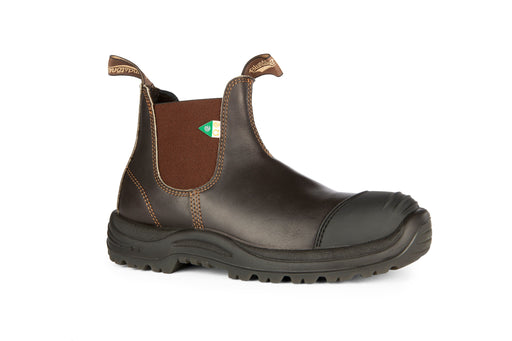 BLUNDSTONE 167 - Greenpatch CSA Rubber Toe Cap Stout Brown