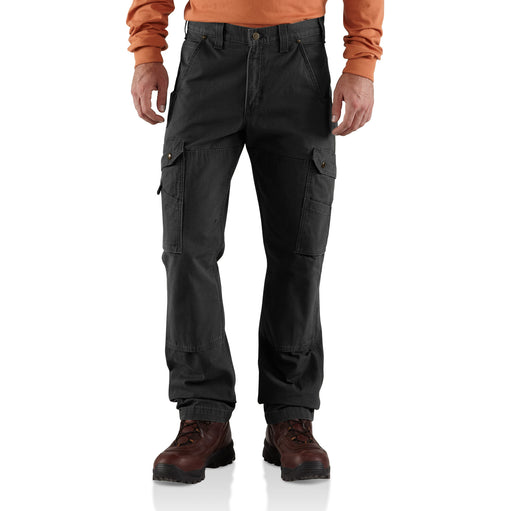 Abrasion-Resistant Relaxed Fit Work Pants For Men