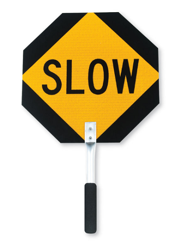 Diamond Grade Aluminum Stop / Slow Sign
