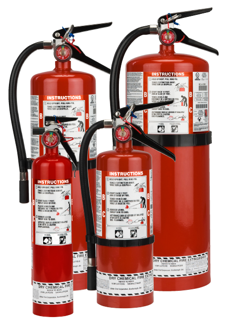ABC Strike First Steel Cylinder Dry Chemical Fire Extinguisher