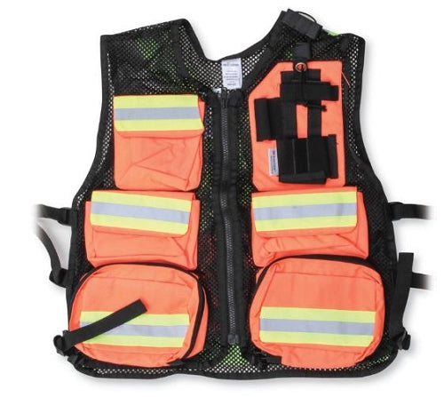 BIG K Nylon Mesh Back First Aid Vest (All Colours)