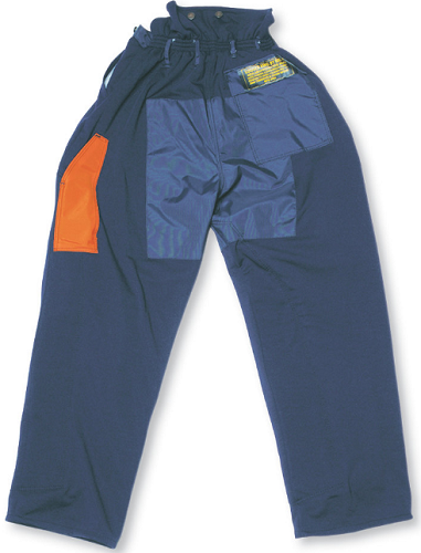 BIG K Logger King 100% Polyester 3600 Fallers' Pants w/ Hi Viz Striping
