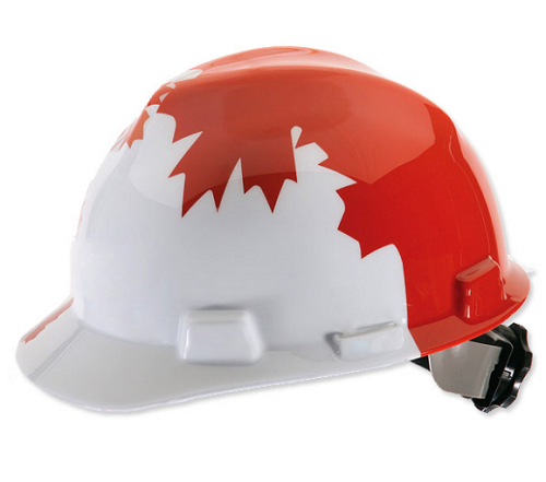 MSA Canadian Leaf Freedom Series Hard Hat