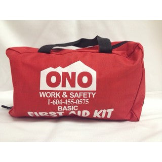 BC Basic First Aid Kit (Nylon Bag)