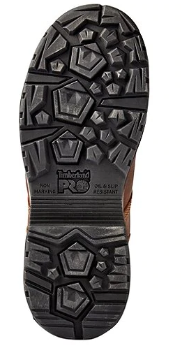 "TIMBERLAND 8"" Endurance HD Composite WP Work Boot (BLACK)"