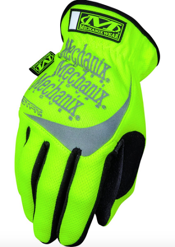 MECHANIX Safety Fast Fit Hi Viz Glove
