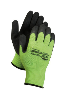 VIKING Thermo HI VIZ Mega Grip Rubber Palm Work Glove