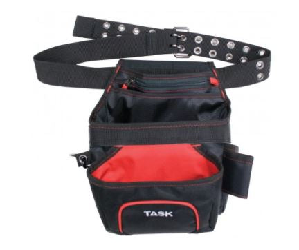 TASK Nail/Tool Pouch With Belt