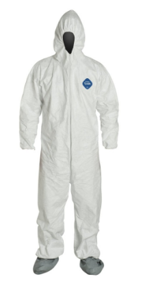 DUPONT Tyvek Disposable Coverall with Hood (2XL ONLY)