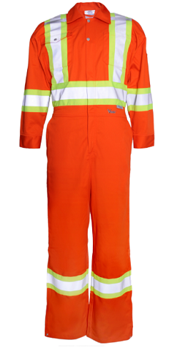 "Viking 4"" Reflective Work Coverall (Tall Inseam)"