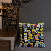 Load image into Gallery viewer, Playbill® Throw Pillow - Black