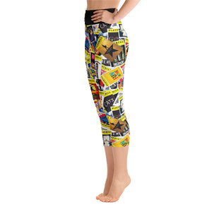 Playbill® Leggings - Yoga Capri Length
