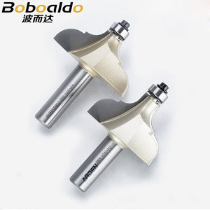 1PCS 2 Flute Classic Ogee Cutter Classical Ogee Cutter With 12.7mm Ball Bearing Arden Router Bit Woodworking tool