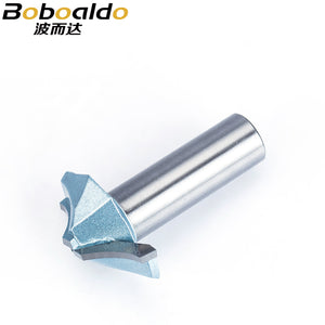 "1pc 1/2"" 1/4"" Shank CNC Tool Milling Cutter Engraving Bit For Wood Cutting Industrial Grade Router Bits Woodworking"