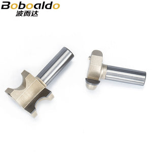 "1pc 1/2"" Shank Router Bits For Wood  Woodworking Tool Tenon Seal Bits T - mortis Combination CNC Cutter"