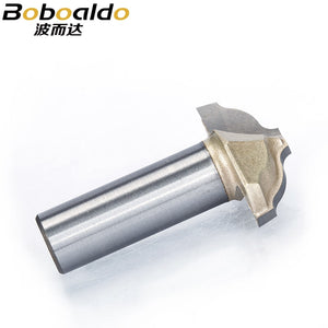 "1pc 1/2"" Shank Trimmer Router Bits For Wood Tungsten Carbide Woodworking Engraving Endmill Chisel Cupboard Edge Cutter"