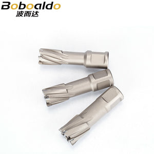 1pc Alloy Metal Drilling Hollow Core Steel Drill Bit Core Drill Iron Punch Magnetic Drill Dia.12-39mm Cutting Depth 35mm