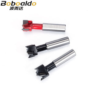 1pc Upgrade Dia 5mm-30mm Woodworking Drill 57mm Total Length Wood Carbide 10mm Shank Crown Row Drill Head Making Hole