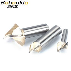 1pcs 1/2 1/4 Shank Dragon Ball Bit Point cut Round Over Groove Bits router bits for wood engraving cutter woodworking