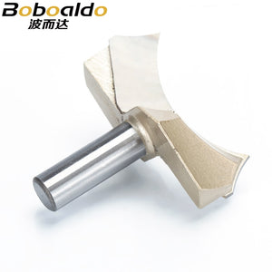 1pcs 1/2*2 Shank Dragon Ball Bit Point-cut Round Over Groove Bits router bits for wood engraving cutter woodworking