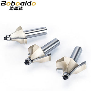 1pcs 1/2 Shank Beading Router Bits For Wood Tungsten Carbide Beading Bit Double Edging Router Bit Woodworking Tools