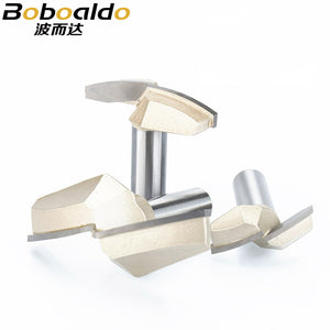 1pcs 1/2 Shank Classical Plunge Bit CNC Woodworking Tools two Flute Router Bits for wood cutting the wood router tool