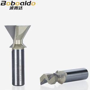 1pcs 1/2 Shank Woodworking Tool Chamfer Bit 60 Degrees Arden Router Bit Dovetail Bits For Leigh End Mill