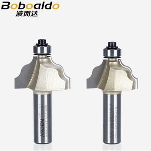 1pcs 1/2 Wavy Mold Bits Arden Router Bit Two flute cutters bearing an unusual and decorative edge mold