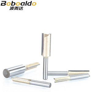 1pcs 1/4 1/2 Shank 2 flute straight bit Woodworking Tools Router Bit for Wood Tungsten Carbide endmill milling cutter