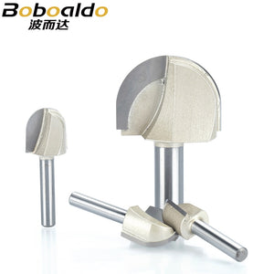 1pcs 1/4 1/2 Shank Round Nose Router Bit cove box Woodworking Cutter Tungsten Carbide Router Bits for wood endmill