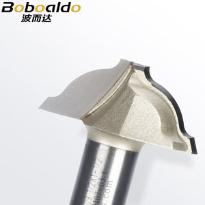 1pcs 1/4 1/2 Shank Stile Panel Router Bits Plunge Ogee Bit Ogee Cutter Milling Cutter End Mill Arden Router Bit
