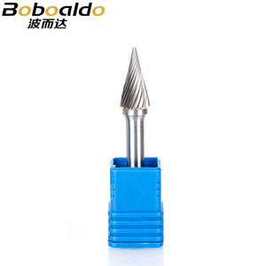 1pcs 6mm Shk 34 Type Tungsten Steel Grinding Head Dremel Accessories Carbide Rotary Tool Metal Polishing Grinding Tools