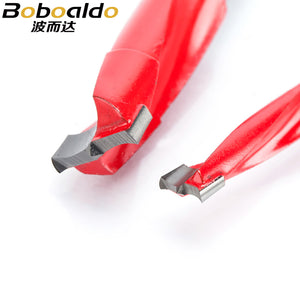 Boboalda 1pc 4mm-9.5mm wood drill bit 70mm length router bit row drilling for boring machine Gang drills wood Carbide endmill