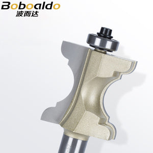 New 1/2'' Shank Specialty Moulding Bits Bullnose Bead Column Face Molding Arden Router Bit For Woodworking Tools