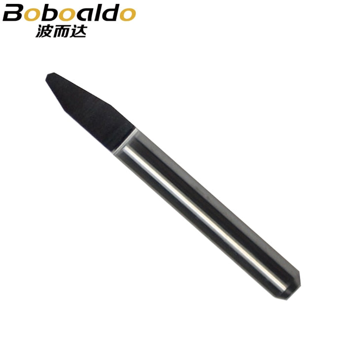 1pc 3.175mm 4mm 6mm SHK Rounding Bottom CNC Router Bits Carbide V Engraving Tools Radiused Bottom Carving Cutters