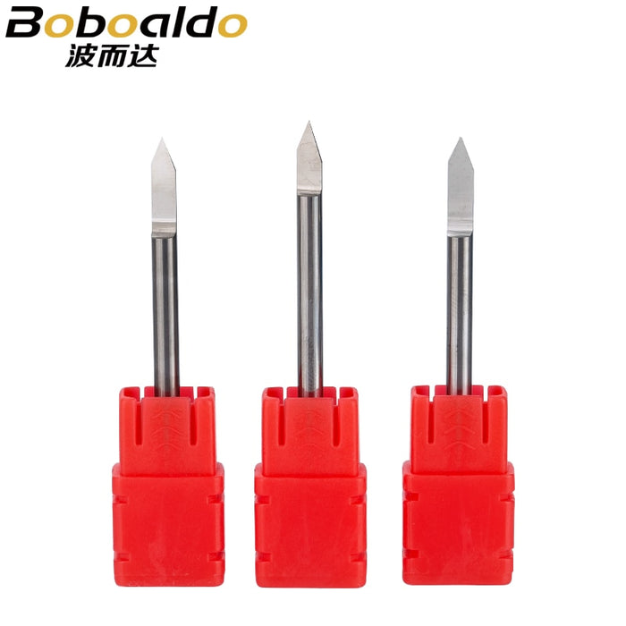 2pc/set 3.175mm Engraving Bits end mill CNC Router Bit TOP Quality degree 20 25 30 40 60 90 milling cutter Machine Accessories