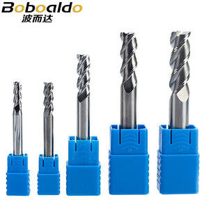 1PC 3 flutes Solid Carbide End Mill for Aluminum CNC Milling Cutter HRC45 Tungsten steel router bits CNC machine