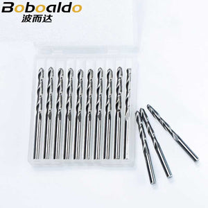 10pc/lot 3.175mm 2 Flute Spiral ball nose end mill CNC router bits for wood tungsten carbide milling route tool fresa