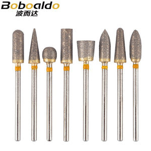1pc Emery grinding head For Dremel rotary tools stone bit head for Cleaning pipes Grinding Dremel accessories for carving