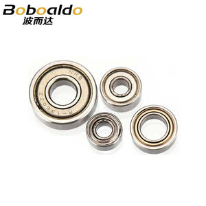 4pc/set 3x7 3x8 5x9 5x12 1/4 Trimming Cutter Bearing for Woodworking Cutter Trimming Milling Router Bit Tool Accessories