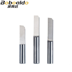 3pc/set 6mm Parallel Carbide PCB Engraving Bit Tungsten Steel end mill CNC Milling Cutter Bits CEL 15mm 17mm 20mm 22mm