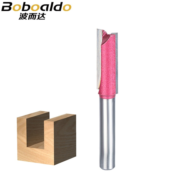 1pcs Router Bit Wood 6mm 8mm 10mm 12mm Industrial Grade straight bit Woodworking Tools Tungsten endmill milling cutter