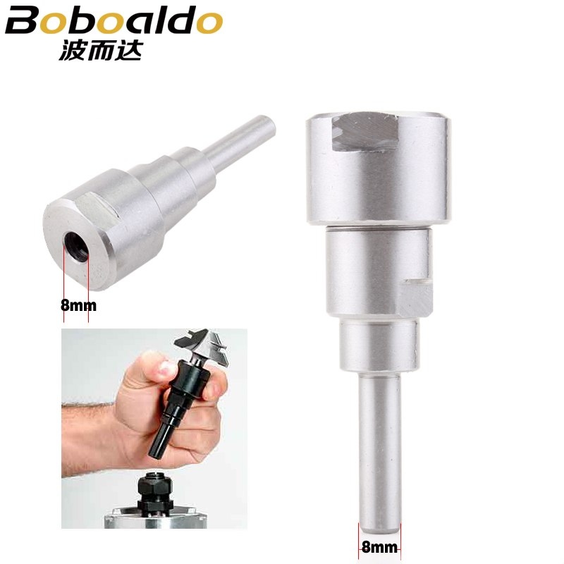 8MM Shank Router Bits Collet Extension Rod For Engraving