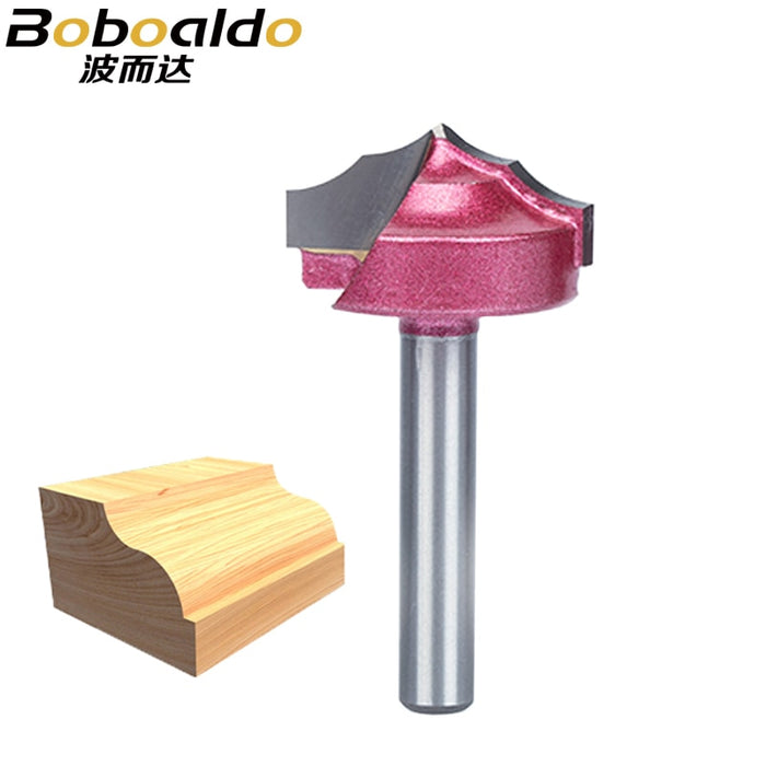 1pc Carving Bit Wood Cutter Double Edging Router Bits Wood Industrial Grade Woodworking Engraving Chamfer Trimming Bit