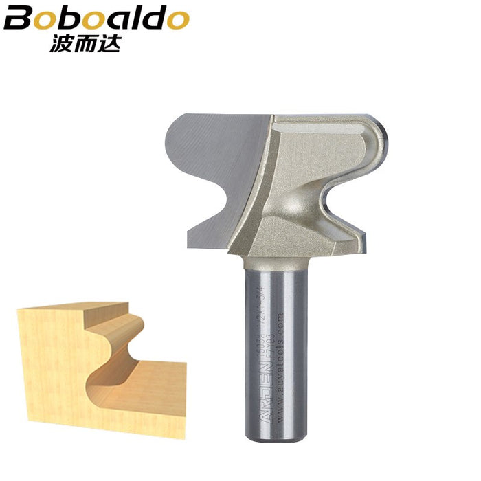 1PCS 1/2 Shk Tools two Flute endmill milling cutter double finger Window Sill And Finger Bits Arden Router Bit Woodworking Tools