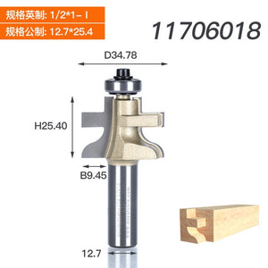 "Woodworking Tools T-Tongue And Groove Set 2Pcs/set Style Rail Assembles Arden Router Bit -1/2*1-I,1/2*1-II -1/2""Shank"